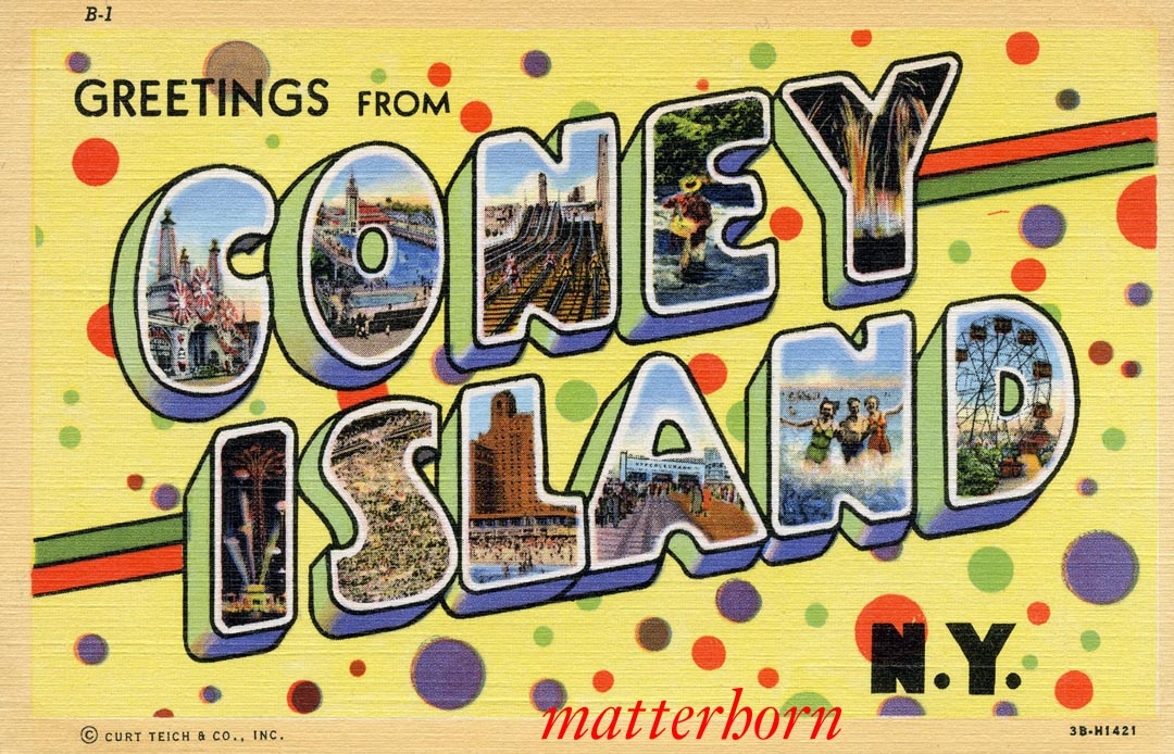 Image result for coney island amusement park 1965