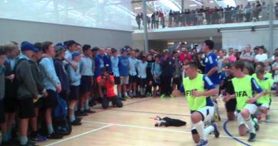 St Patricks College Sport Wellington Futsal NZ Schools Champs