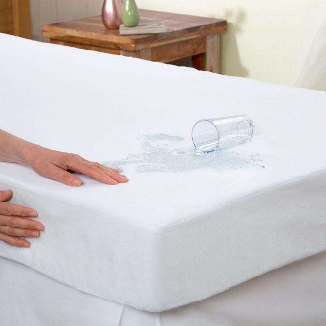 Classic Hypoallergenic Smooth Waterproof Mattress Protector Matthem