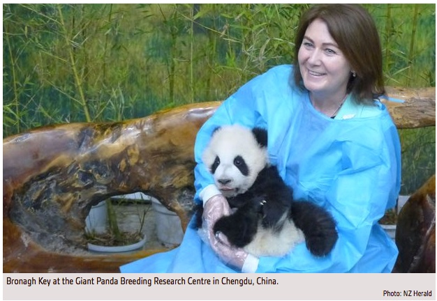 PM_s_wife_left_holding_baby__panda____Radio_New_Zealand_News