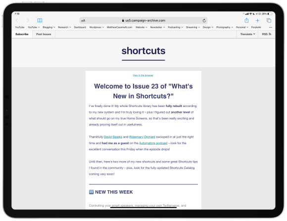 Announcing the simplified Shortcuts Library