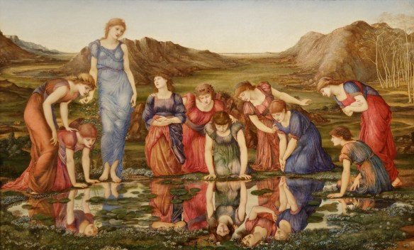 The Mirror of Venus Edward Burne-Jones