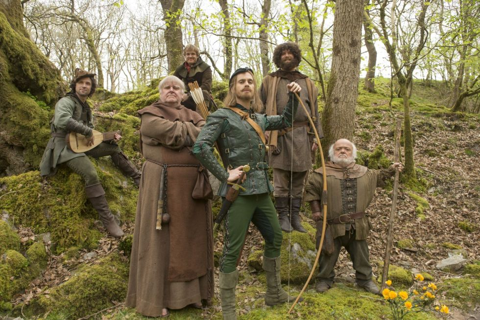 Doctor-Who-Robot-of-Sherwood-Robin-Hood-Merry-Men