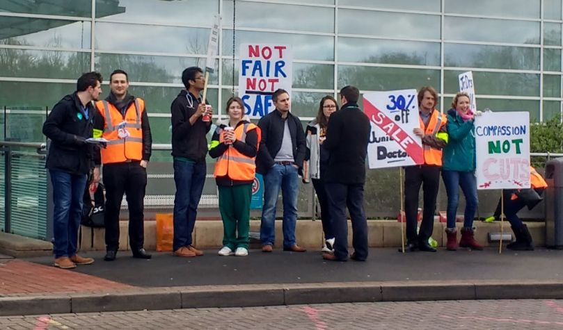 NHS Junior Doctors strike action