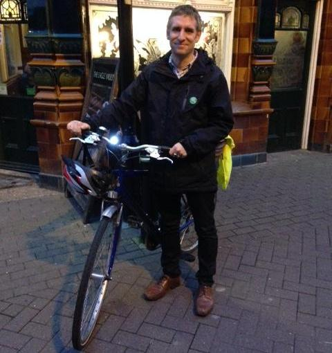 Matt with bike