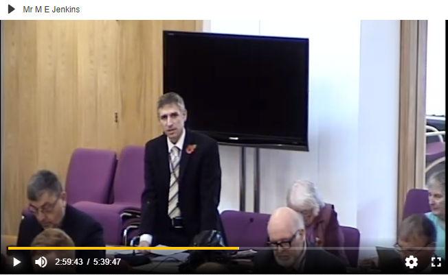 Carbon emissions council motion debate