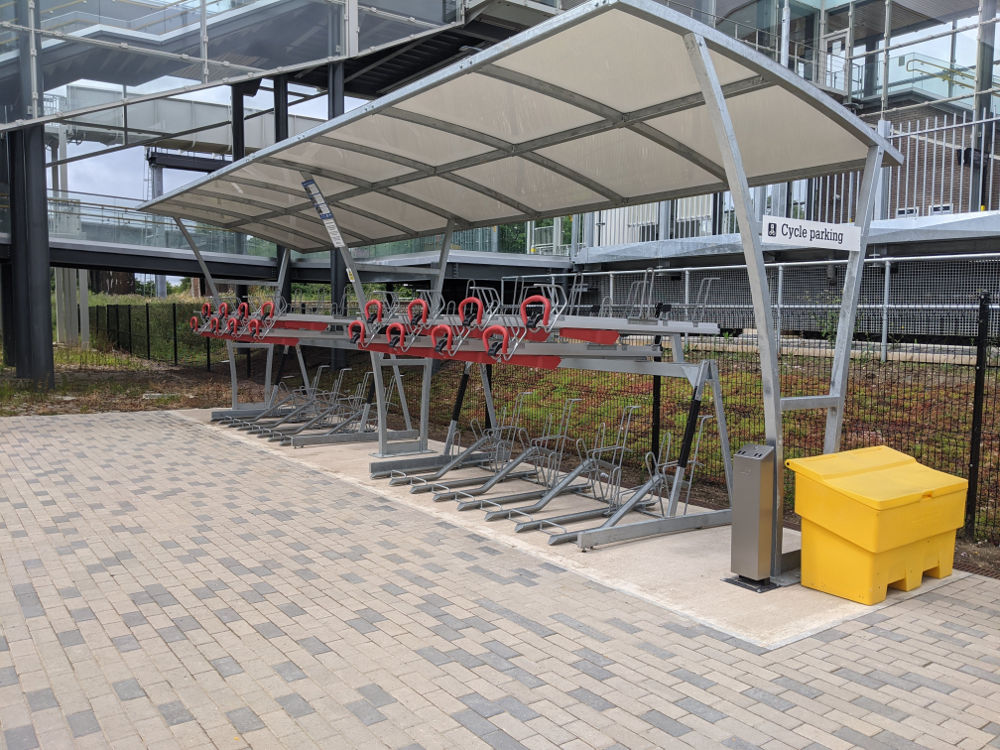 Parkway cycle parking