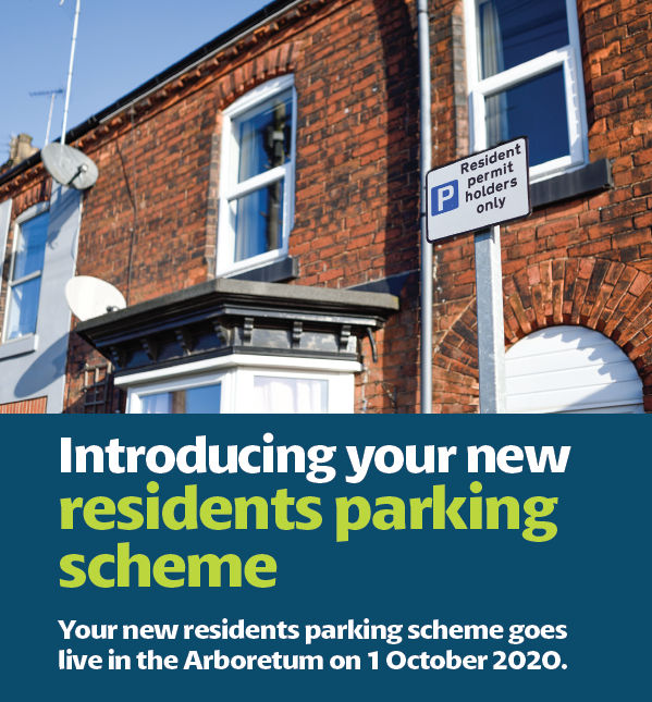 Residents Parking Scheme starts on 1st October