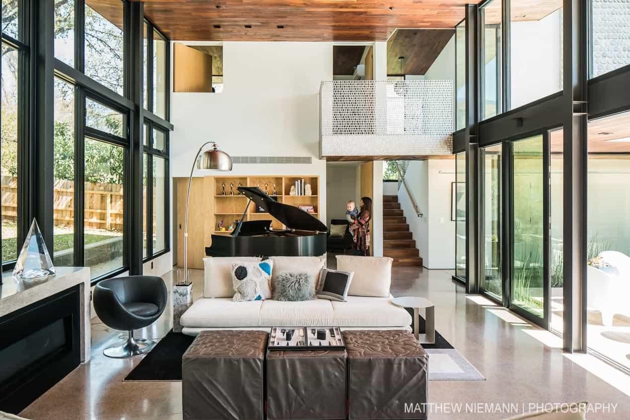 austin modern home tour