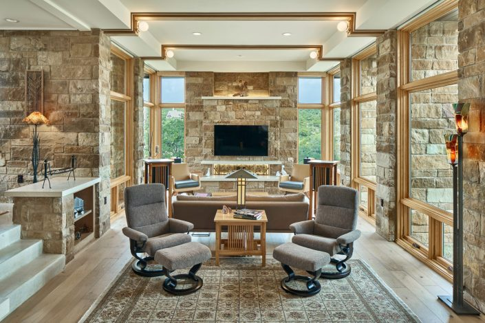 modern residential interior architectural design photography