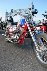 Captain America Bike