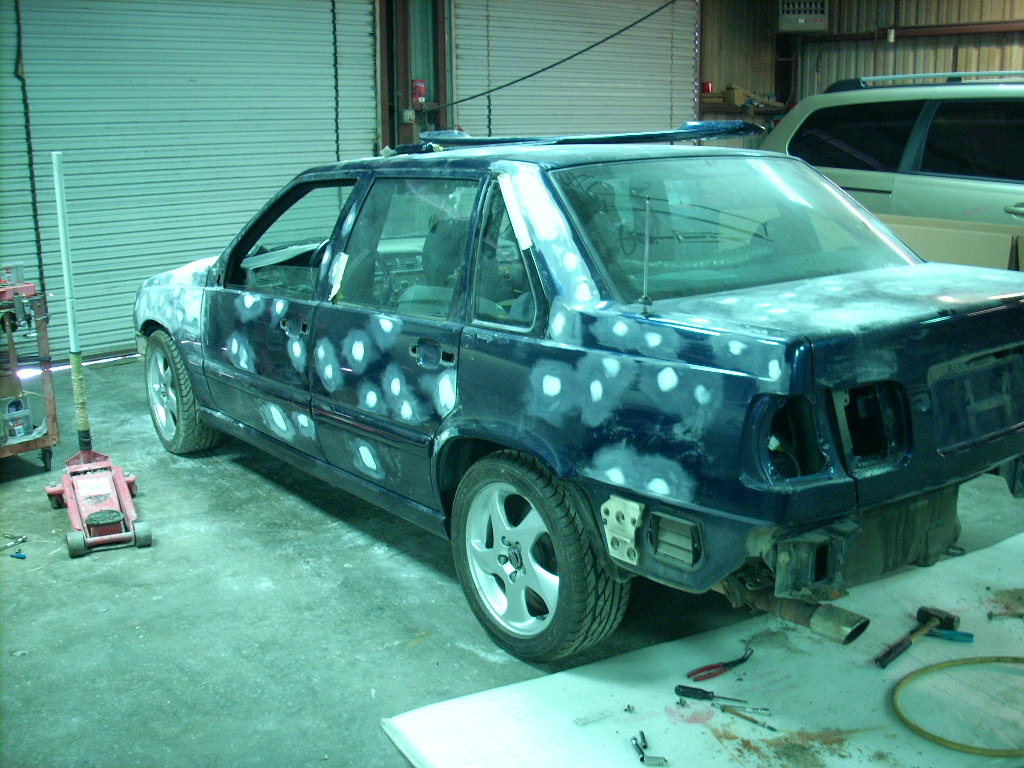 Beautiful S70 Paint Restoration