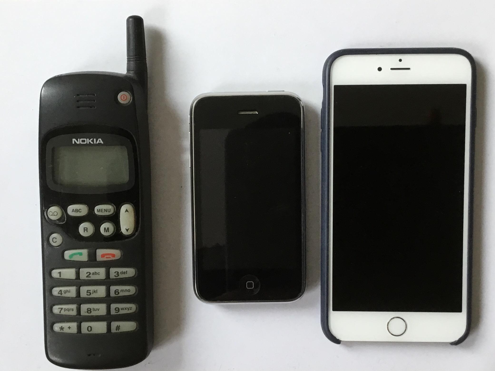 10 Jahre iPhone – im Vergleich mit Nokia