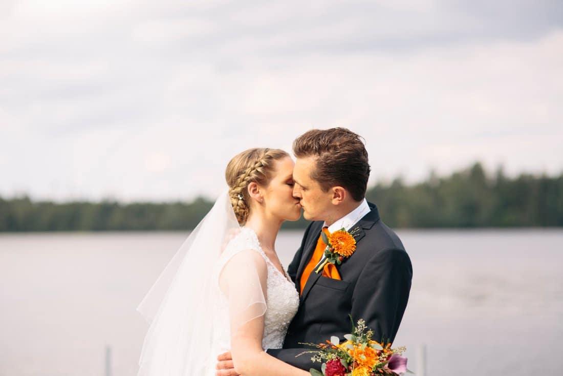 bröllop kinna två skyttlar