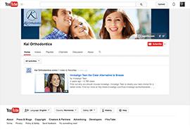 Kai Orthodontics YouTube