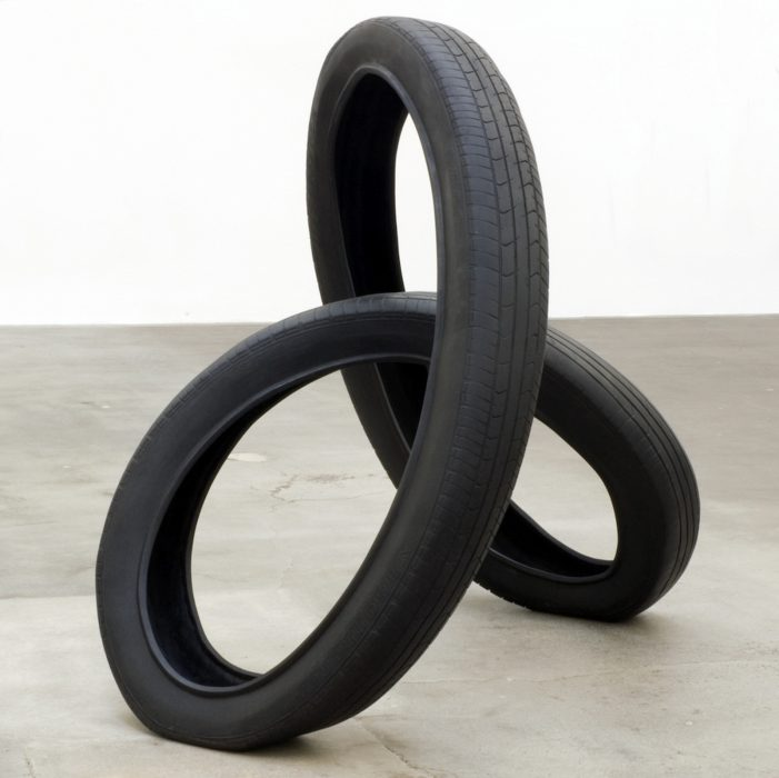 The Shape of Time, 2009 Bronze with patina 56 x 52 x 40 inches