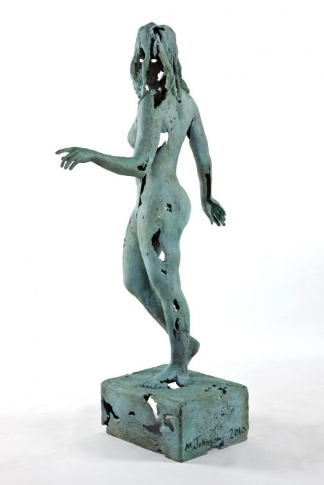 Object of Antiquity (Aphrodite), 2010 Bronze with patina 83 x 46 x 19 inches