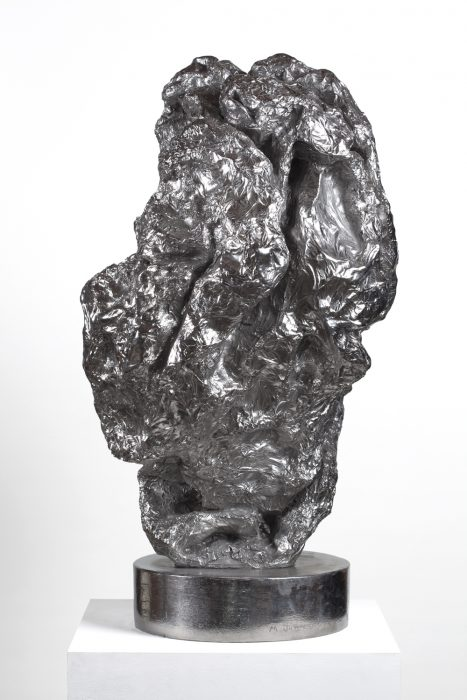 Grotesque at Prayer, 2010 Stainless steel 31 x 19 x 19 inches