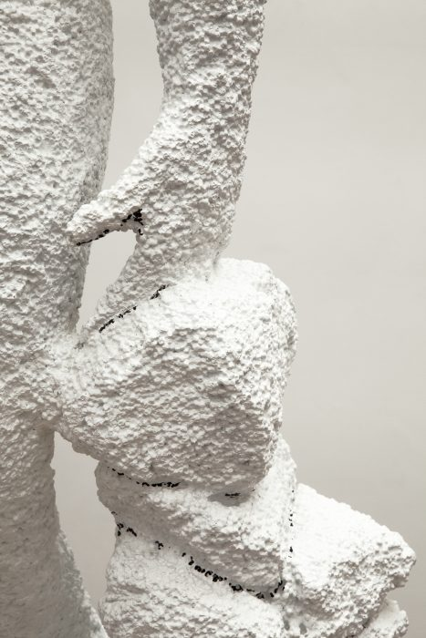 Styrofoam Girl, 2012 Detail