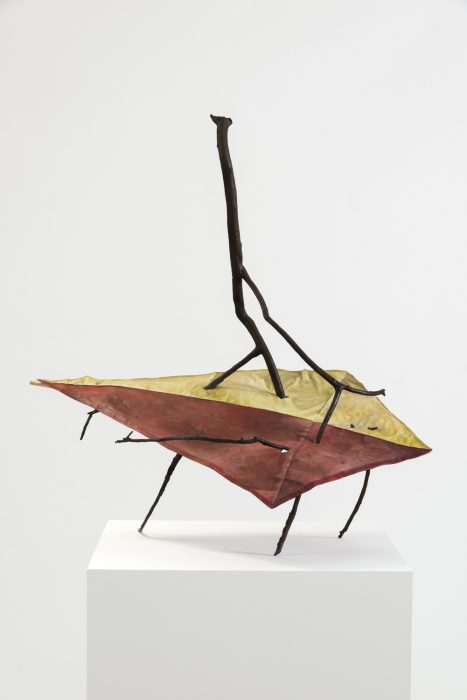 Fallen Kite, 2012 Cast bronze 34.75 x 34.75 x 24 inches