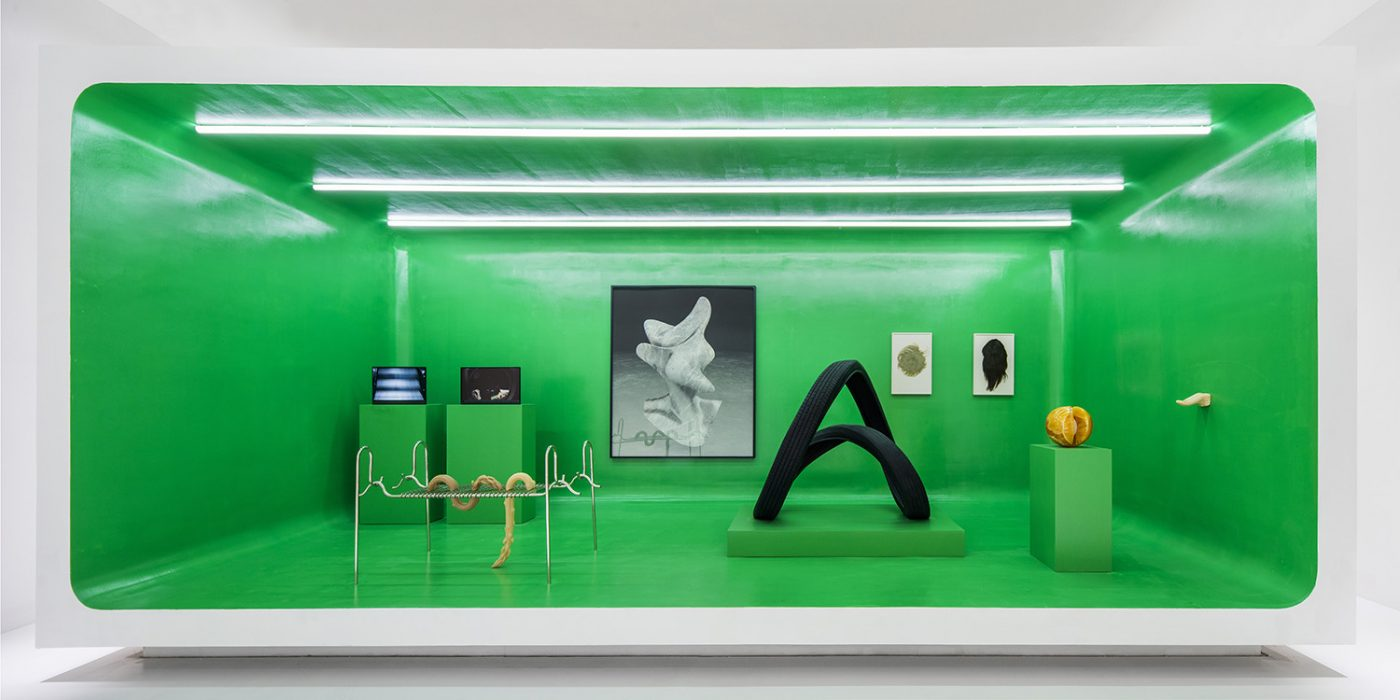 The Artist is Present , curated by Maurizio Cattelan Installation view