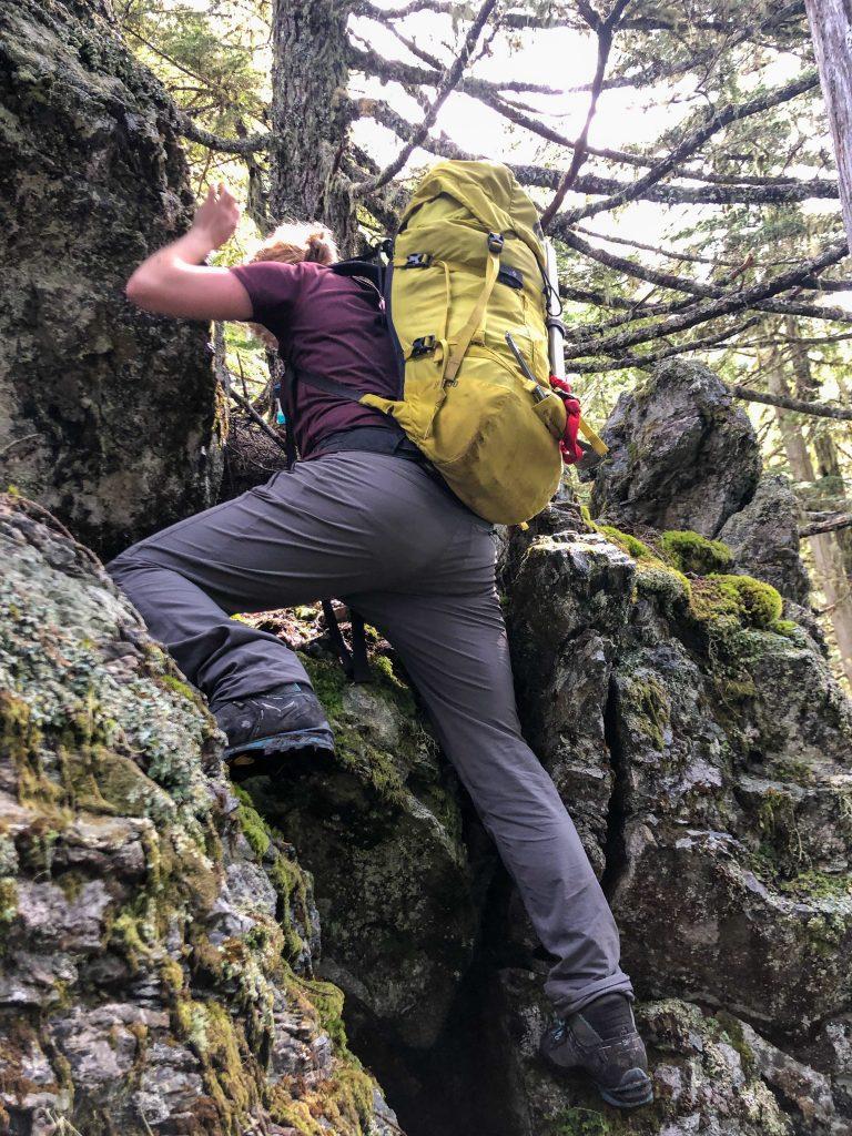 Fun class 3 step on the ridge.