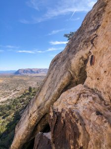 View from en route of Tonto (5.5).