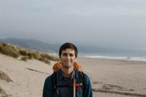 Matt on the beach