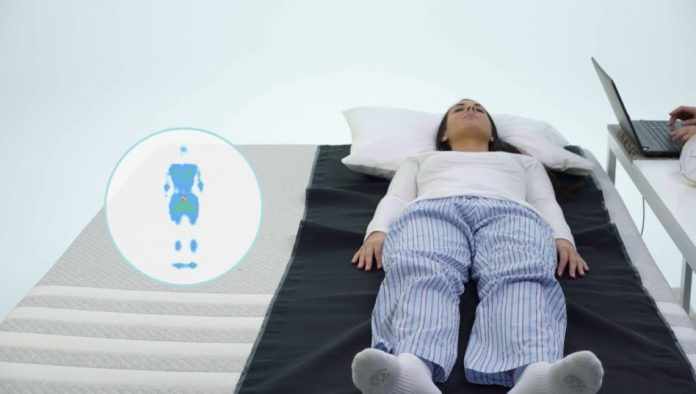 Mattress Advisor pressure relief test