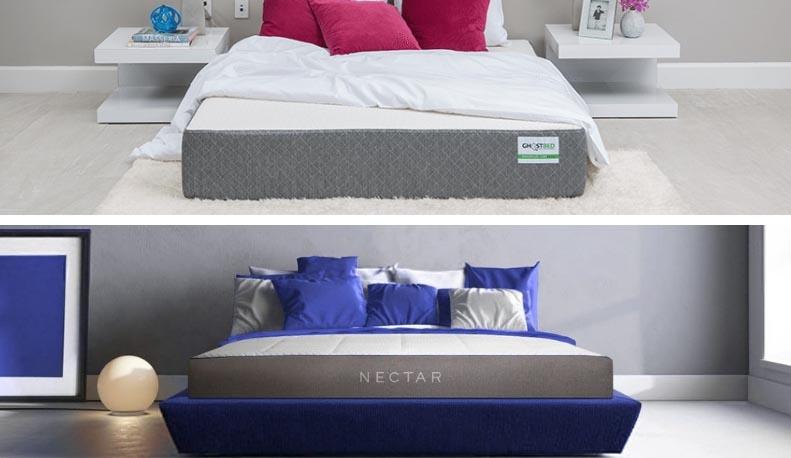 ghostbed vs nectar mattress comparison