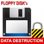 Floppy Drive Data Destruction
