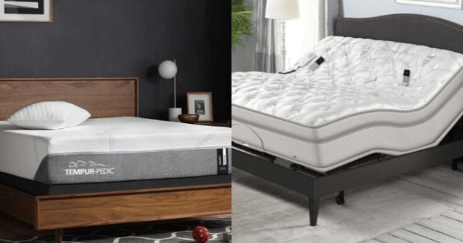 sleep number vs tempur pedic mattress