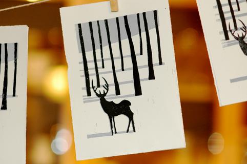 How To Make A Winter Lino Print Matt Richards Illustration
