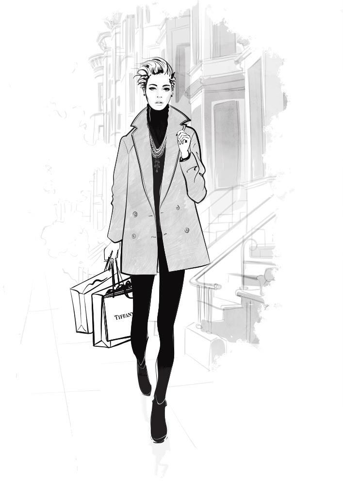 tiffany fashion illustration