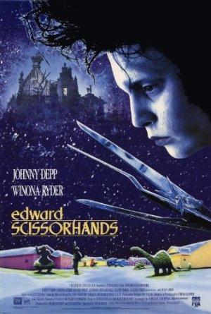 Edward Scissorhands poster