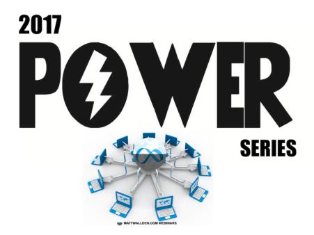 Power Series Webinars