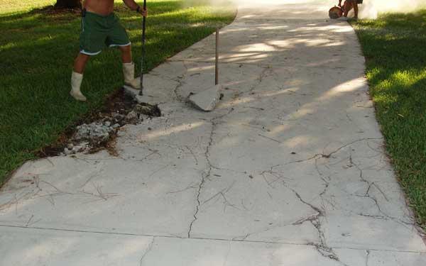 How Patch Concrete Driveway