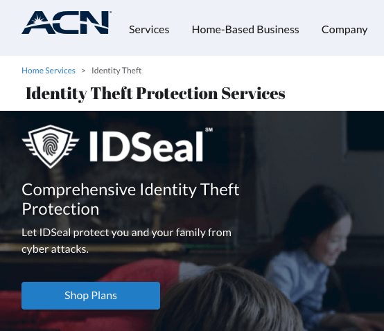 ACN identity theft services