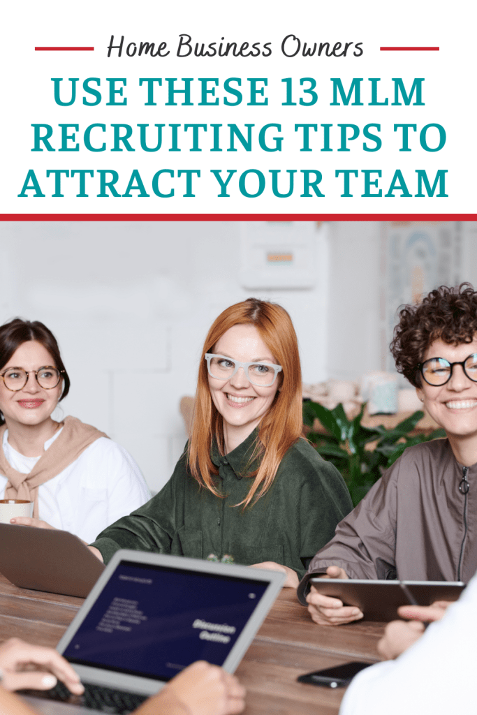 use these network marketing recruiting tips to build a team like these smiling folks