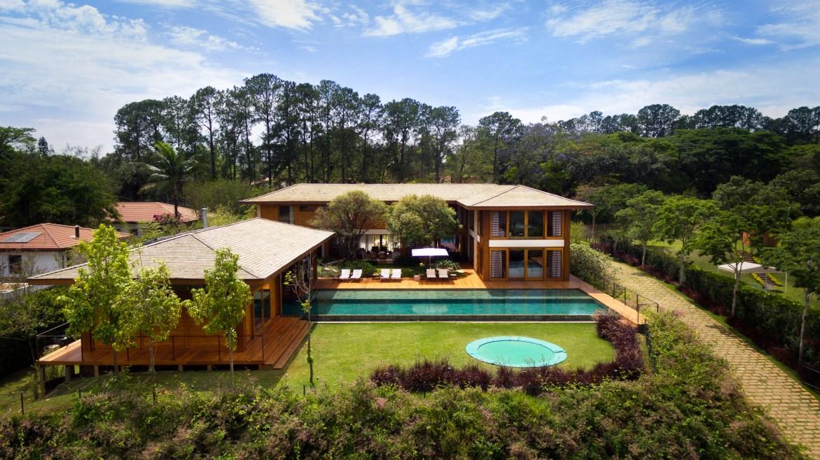 Aluguel de casas de luxo Interior Itu Villa 6 2 1