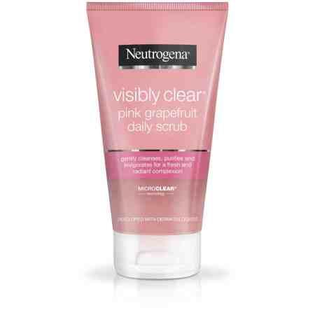 Neutrogena VISIBLY CLEAR Pink Grapefruit Daily Scrub