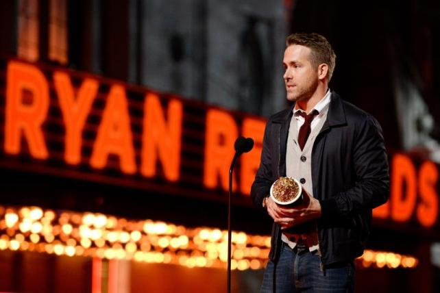 """""""Melhor atuação de comédia"""" para Ryan Reynolds e """"Melhor briga"""" para Deadpool"""