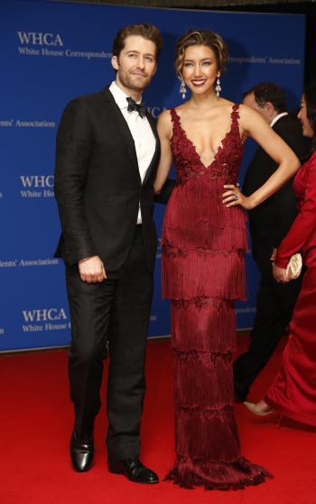 Matthew Morrison e Renee Puente