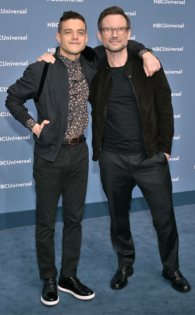 Rami Malek e Christian Slater