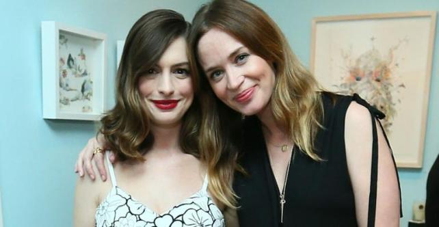 Anne Hathaway e Emily Blunt