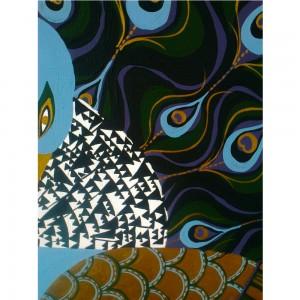 Faye-Chadburn's-peacock-painting