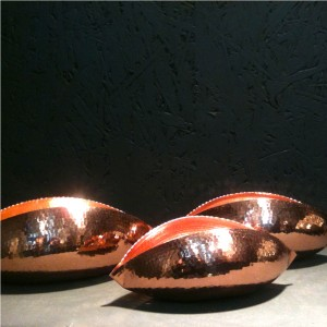 Trio-of-copper-tea-light-holders