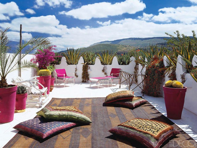 Five ways to create an outdoor space