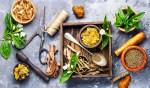 Alternative herbal medicine. Bioregional Herbalism and hemp-derived CBD products.