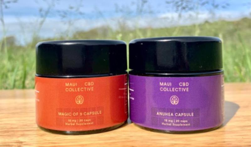 full spectrum cbd capsules and gummies in hawaii maui cbd collective.